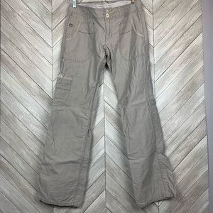Horny Toad Gray utility camping pants